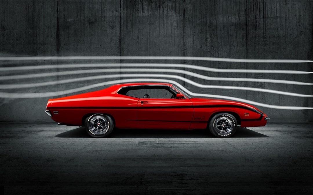 '70 Ford Torino King Cobra… qui ne piquera pas !