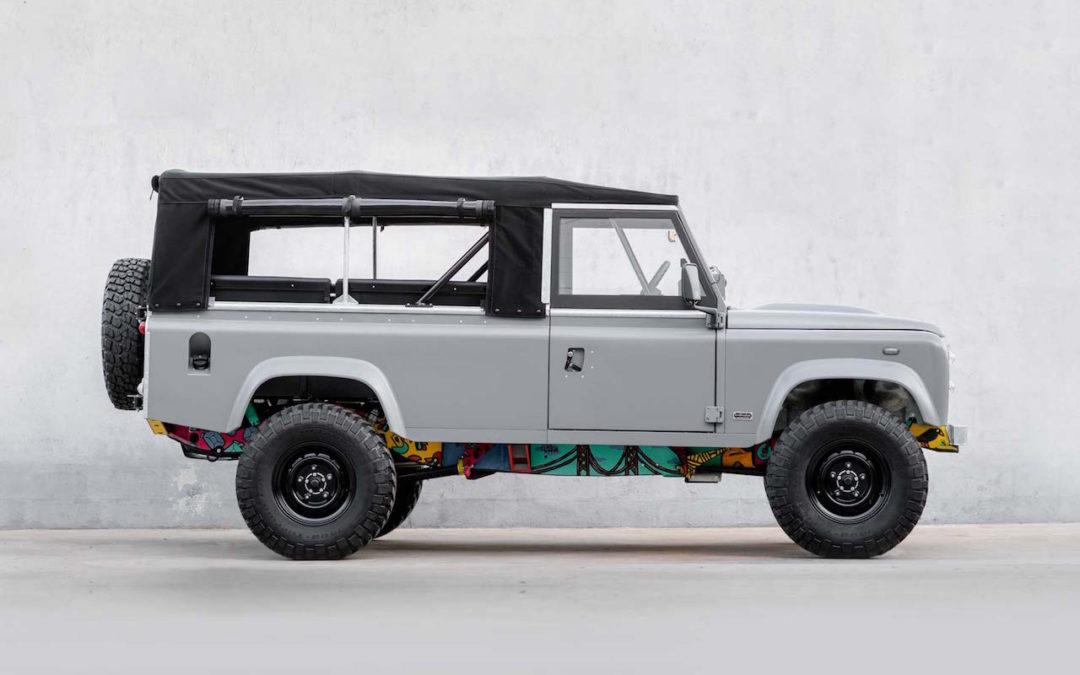 Build N77 – '83 Land Rover V8 signé CoolNVintage