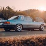 '77 Mercedes 450SLC... Une R107 en 2JZ !