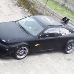 L'Opel Calibra Turbo de Gilles - En piste...