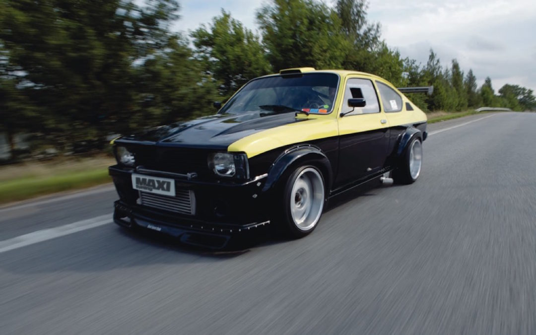 Opel Kadett GTE Turbo ! Move your ass…