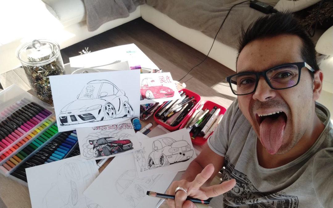 #Petrolhead : Frédéric Rodriguez le talent sauce Barjozoku