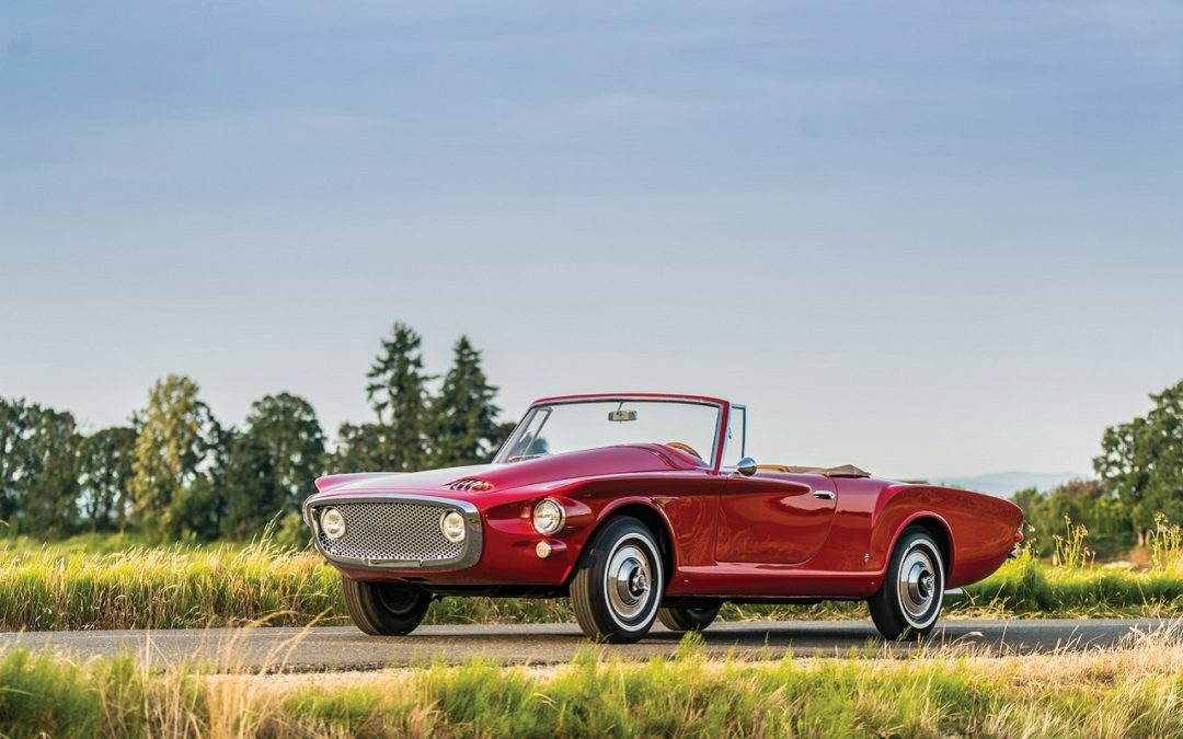 '61 Plymouth Asimmetrica Roadster Ghia – Vous avez dit bizarre ?