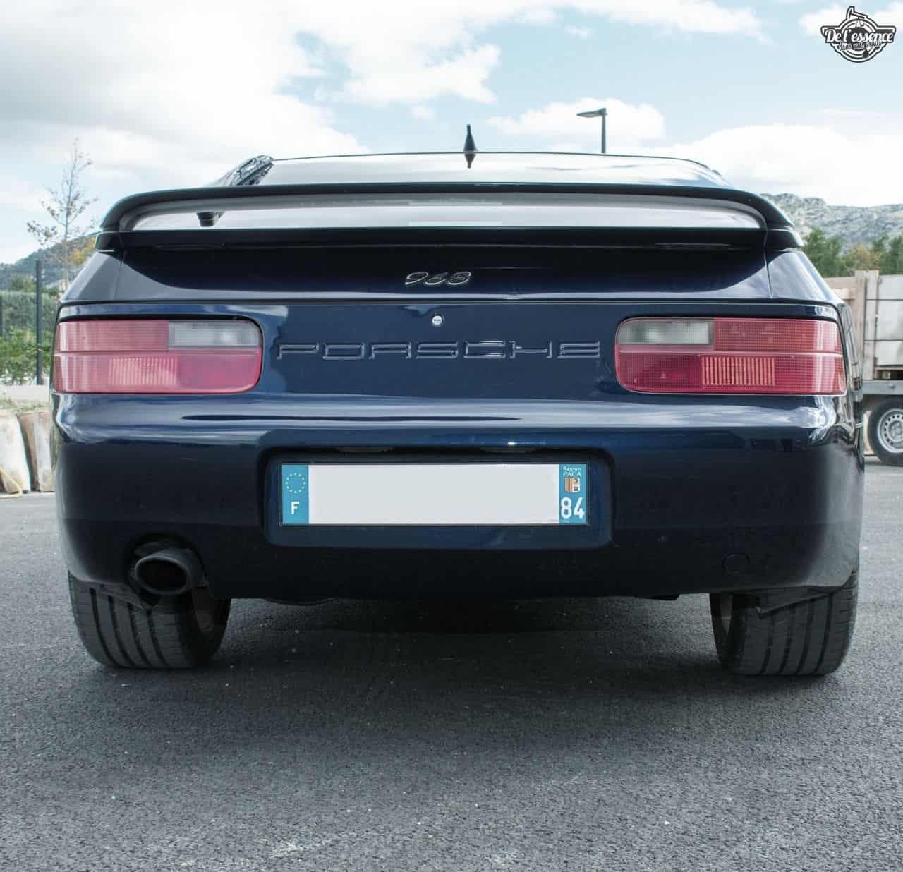 Porsche 968 - Tu veux du 4 cylindres ?! 8