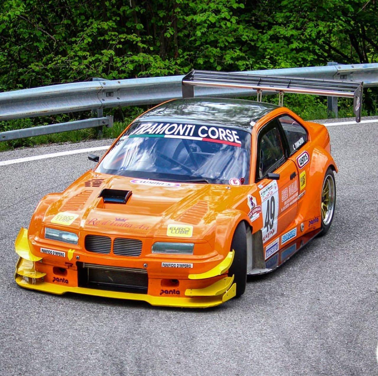 Hillclimb Monster : BMW 320i Cosworth ! 13