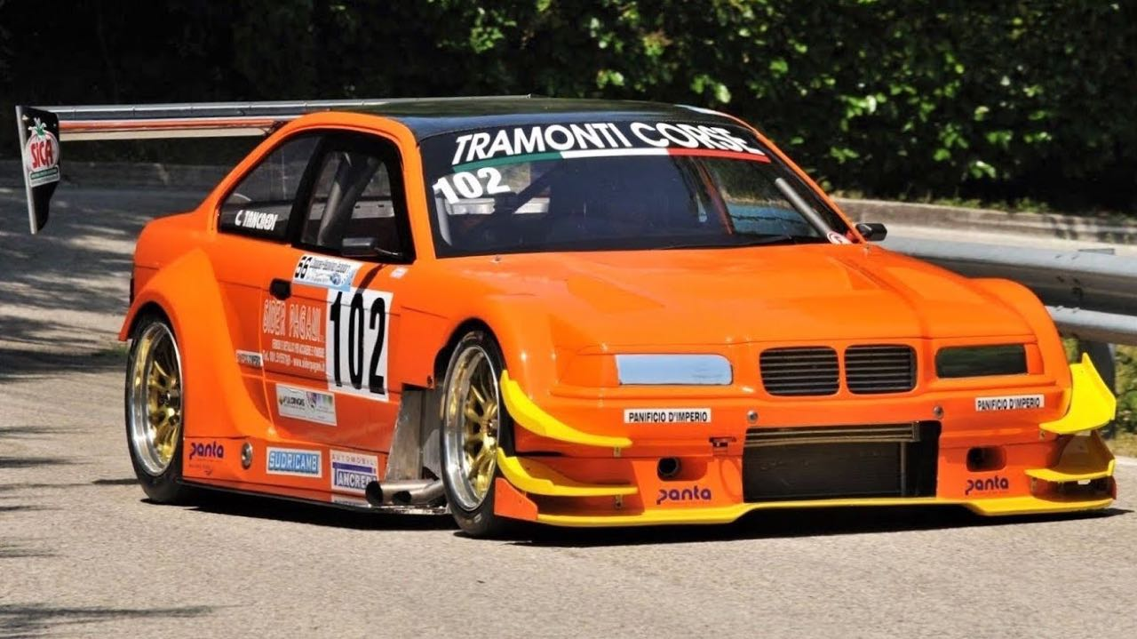 Hillclimb Monster : BMW 320i Cosworth ! 17