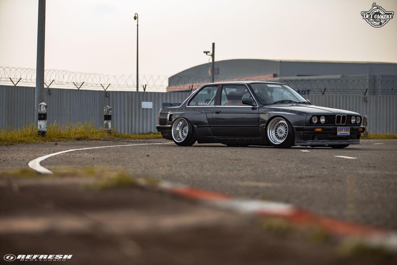 BMW E30... En SR20DET et Rocket Bunny ! 72