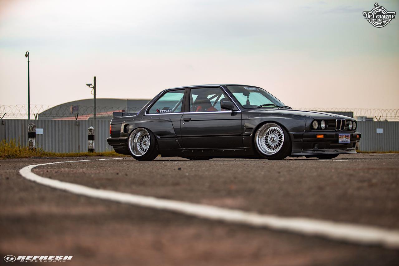 BMW E30... En SR20DET et Rocket Bunny ! 75
