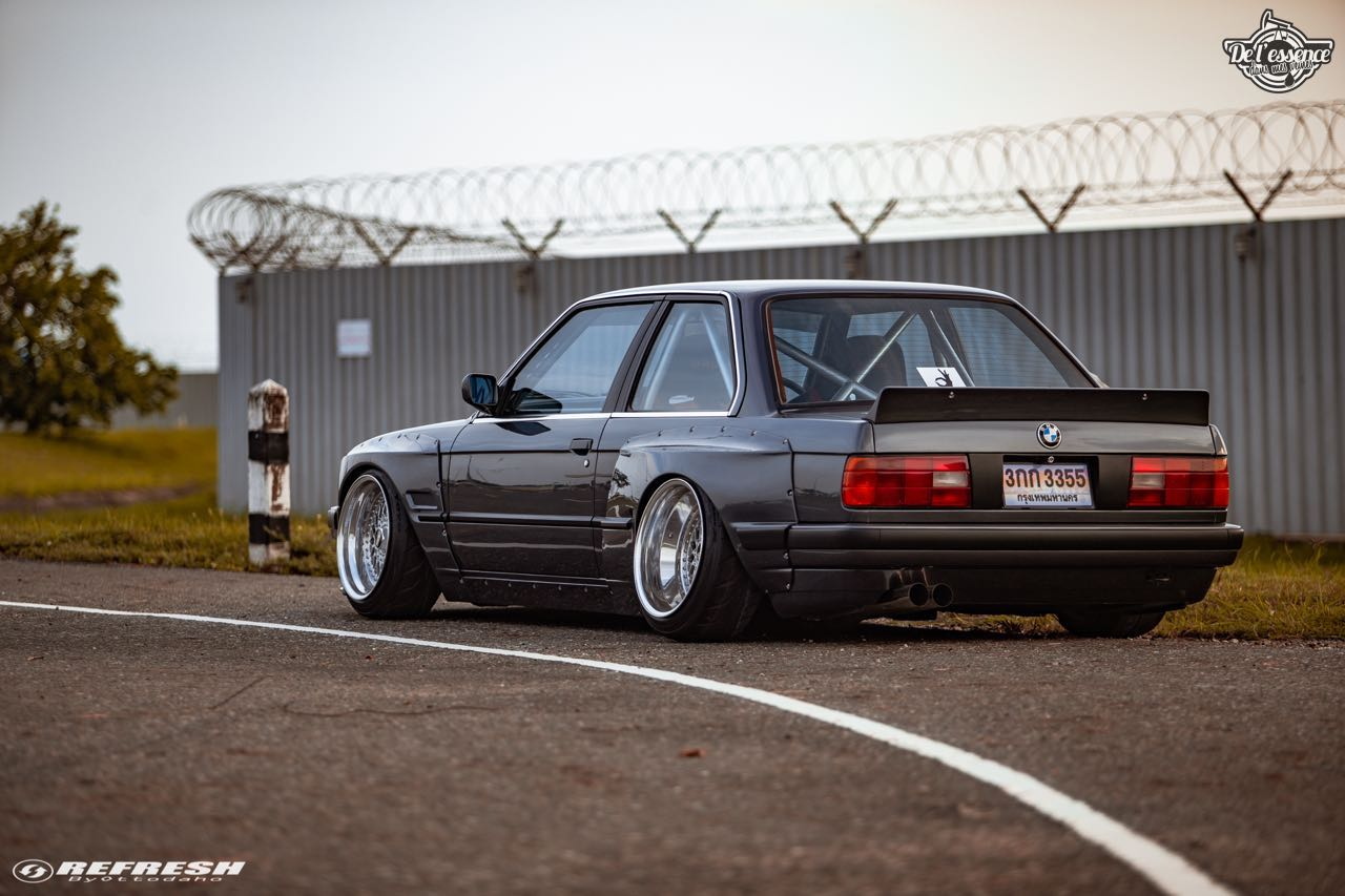 BMW E30... En SR20DET et Rocket Bunny ! 58