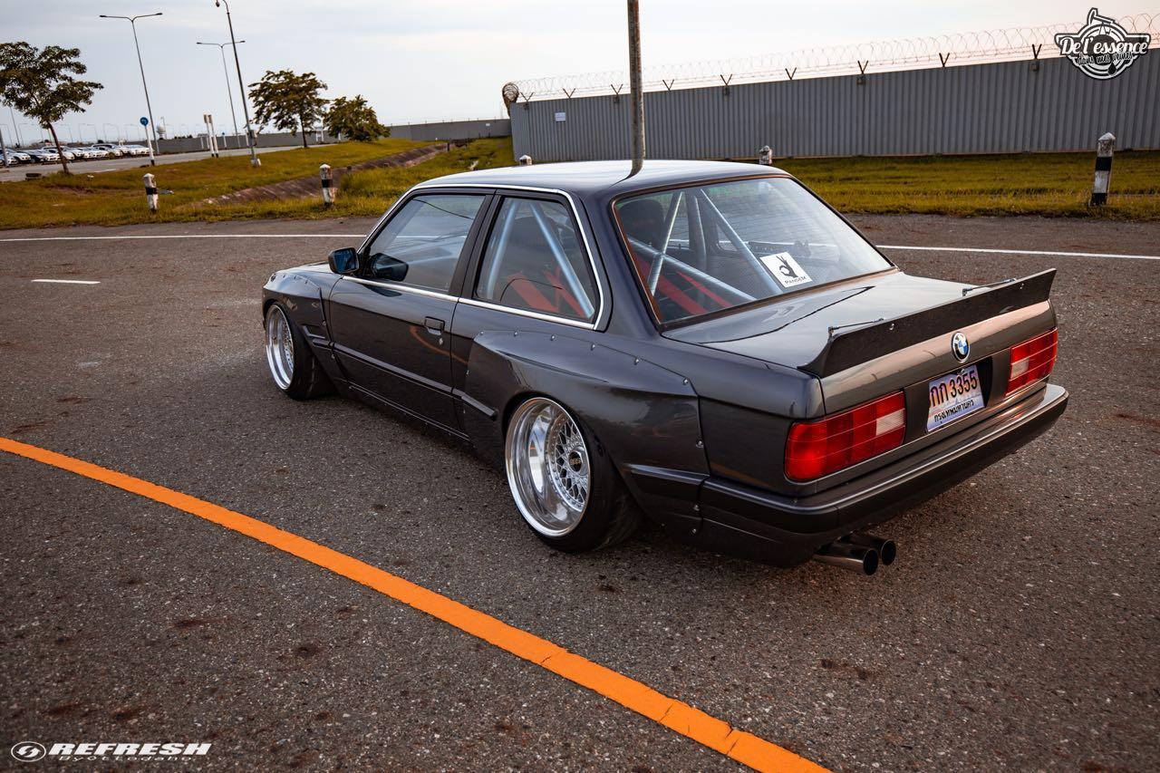 BMW E30... En SR20DET et Rocket Bunny ! 52