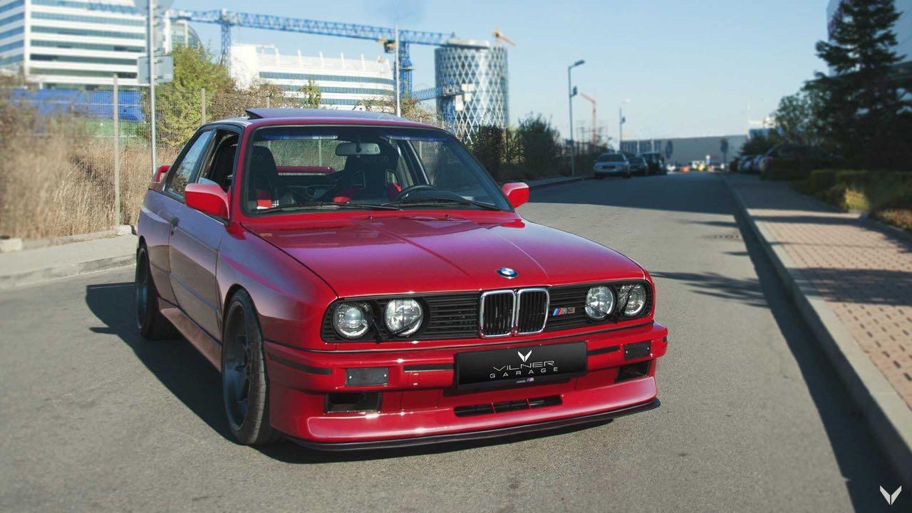 BMW M3 E30 Vilner... avec un S50B32 ! 30