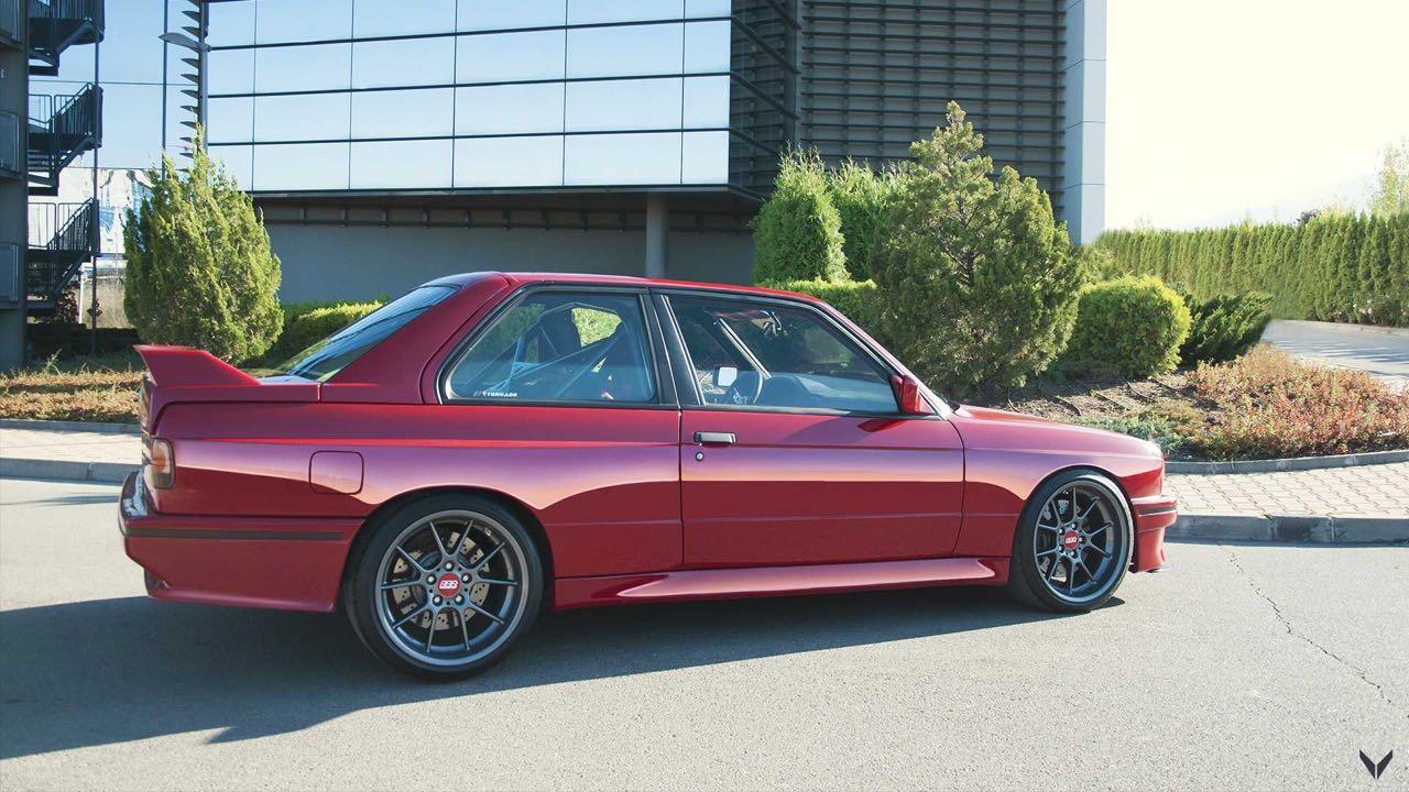 BMW M3 E30 Vilner... avec un S50B32 ! 32