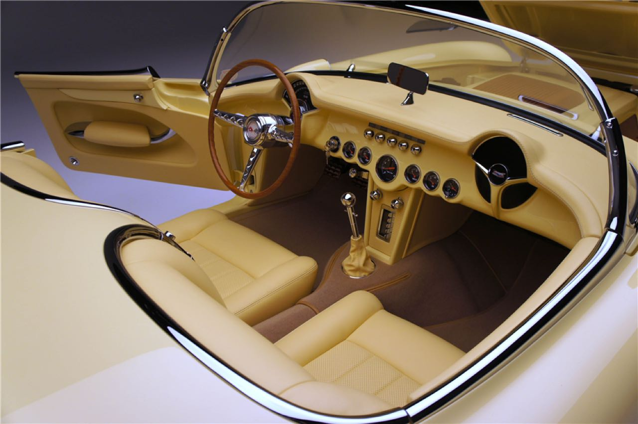 Custom '57 Chevrolet Corvette C1 - Trop clean ?! 22