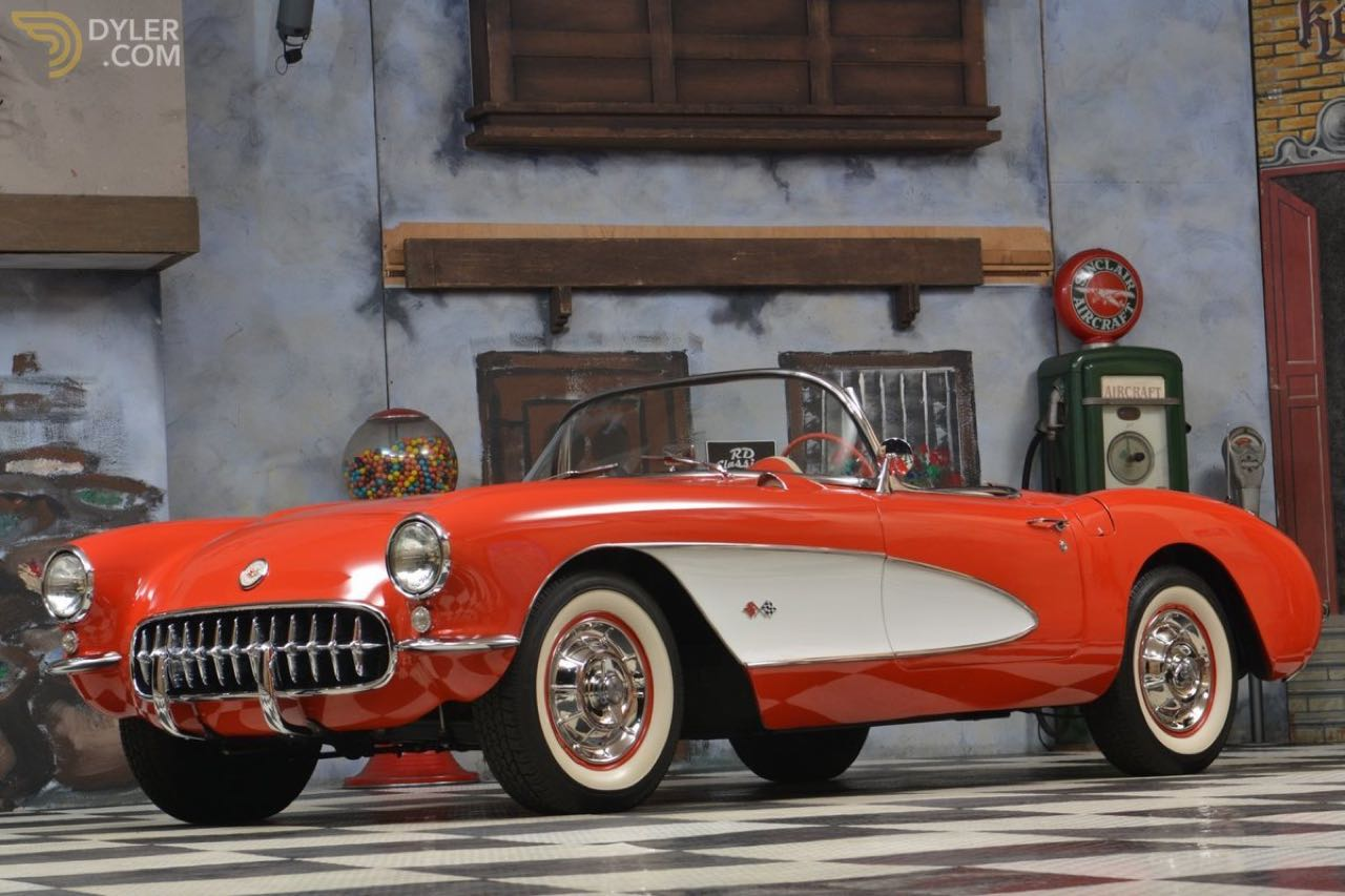 Custom '57 Chevrolet Corvette C1 - Trop clean ?! 3