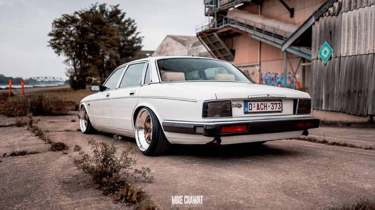 Slammed Daimler XJ40 - Du Static pour Sa Majestic ! 5