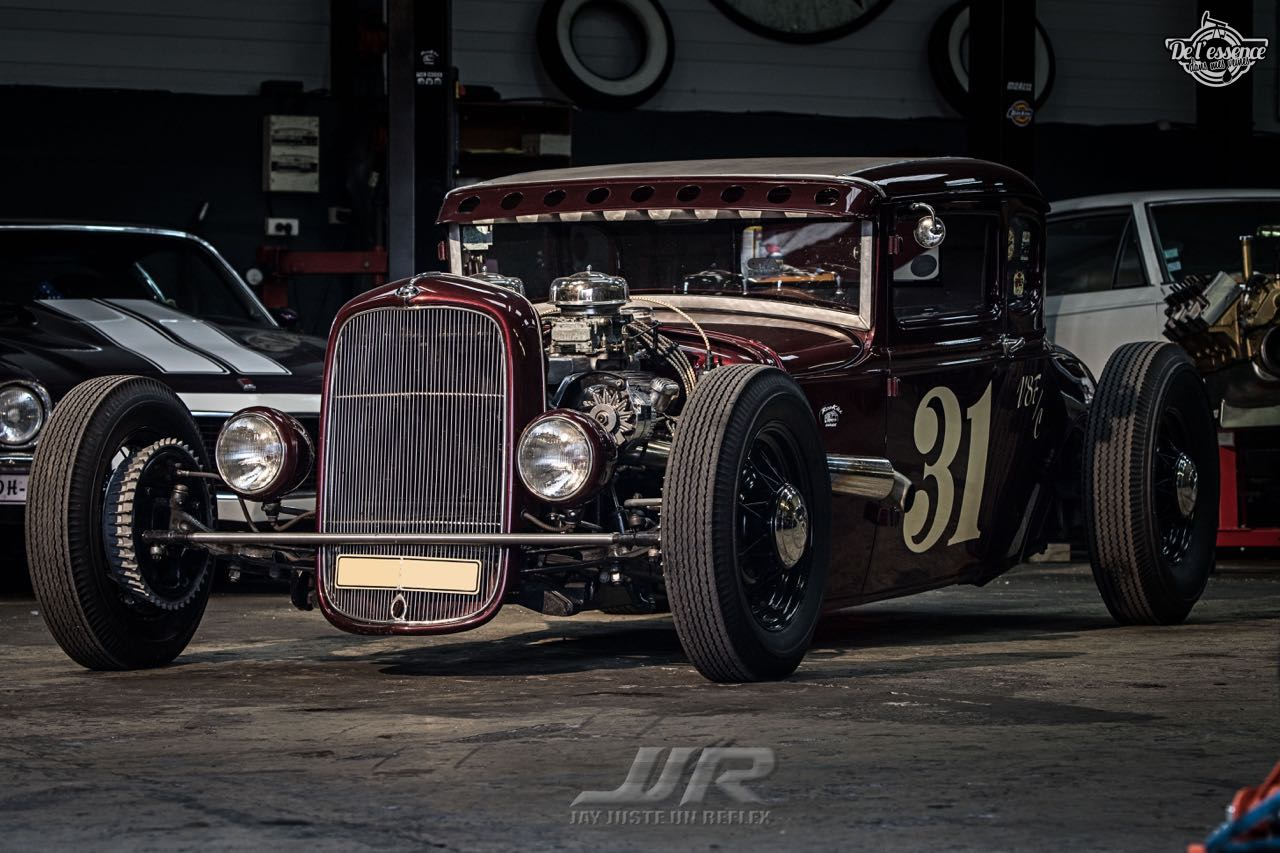 Le Rod Ford 31 Modèle A II Deluxe du RodKill Garage - Made in France ! 19