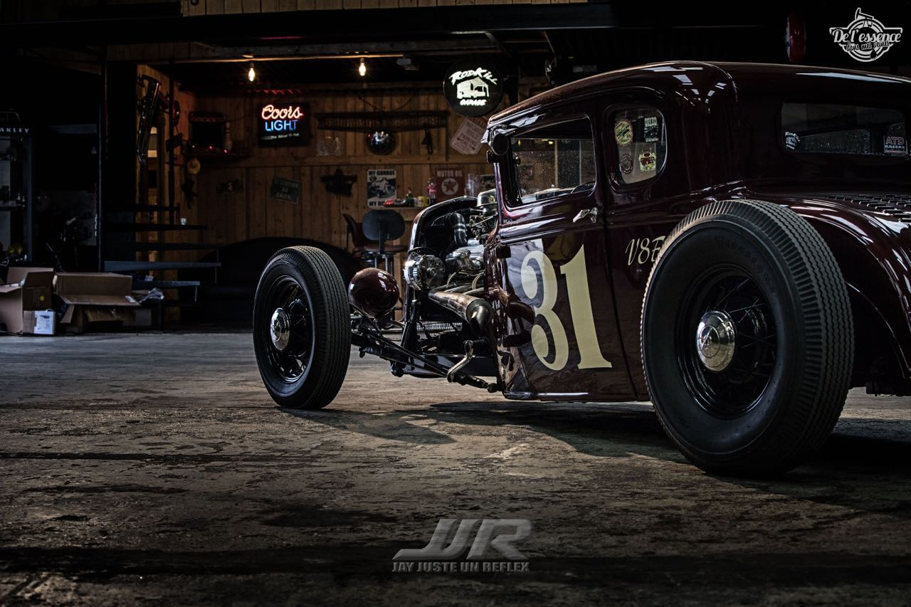 Le Rod Ford 31 Modèle A II Deluxe du RodKill Garage - Made in France ! 23