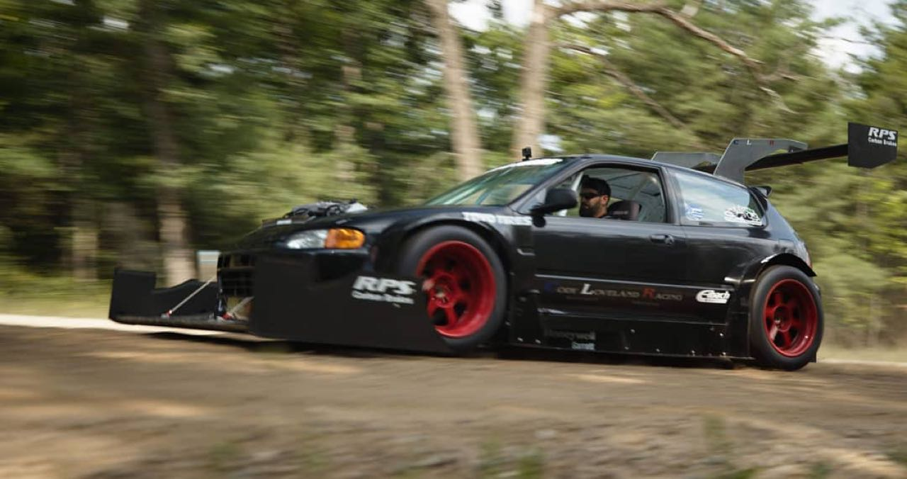 Hillclimb Monster  : Honda Civic V6 Turbo - Pikes Peak Attack ! 8