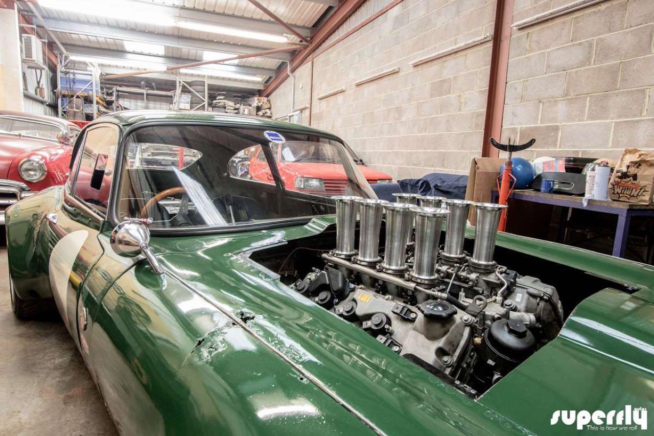 Jaguar Type E en V8 BMW... Allez, on r'met ça ! 18