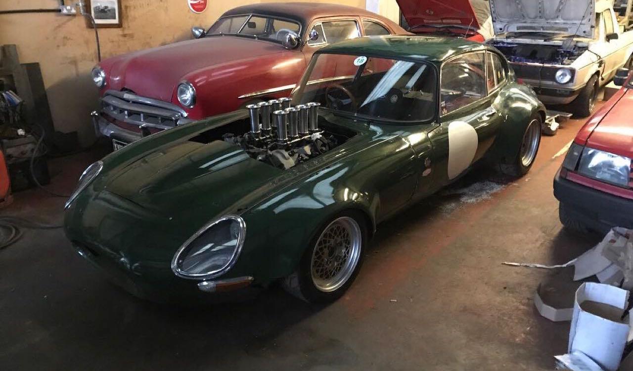 Jaguar Type E en V8 BMW... Allez, on r'met ça ! 28
