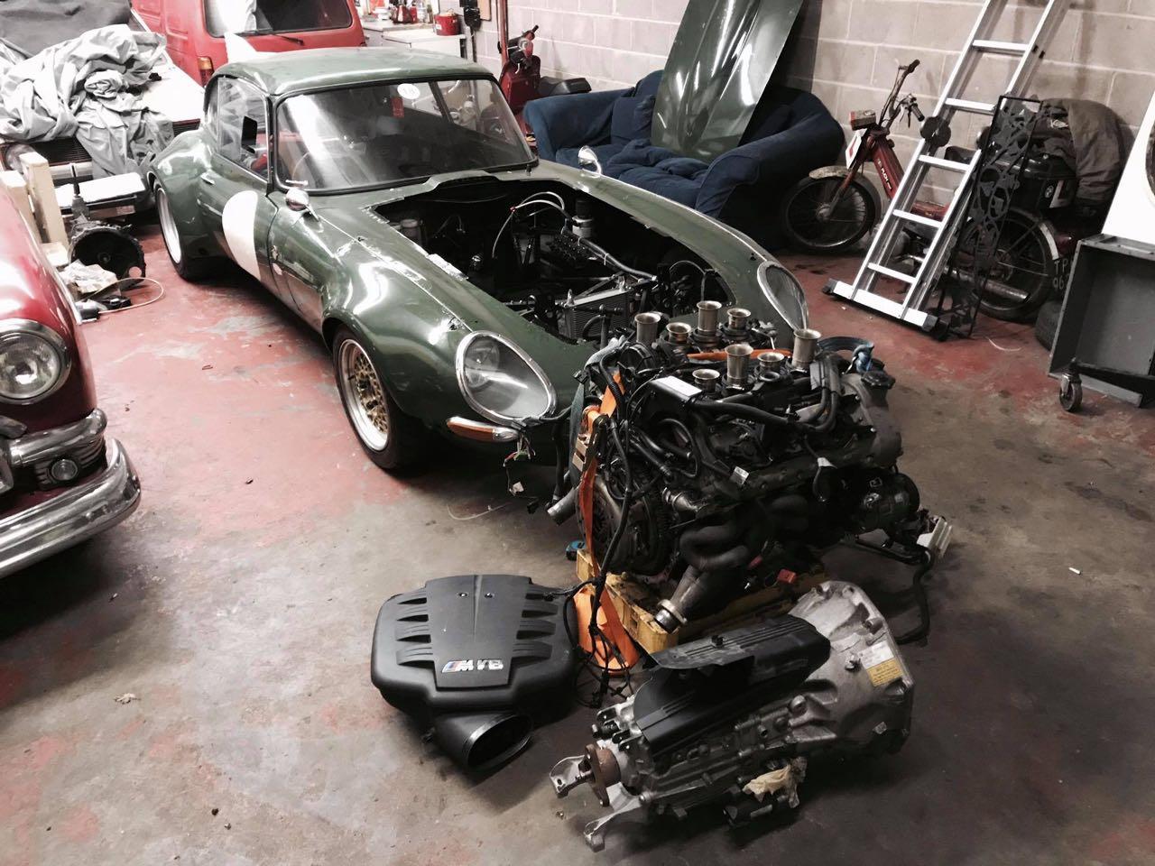 Jaguar Type E en V8 BMW... Allez, on r'met ça ! 25