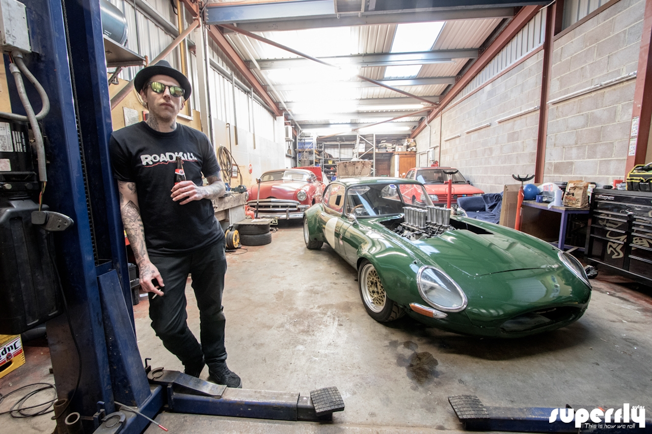 Jaguar Type E en V8 BMW... Allez, on r'met ça ! 23