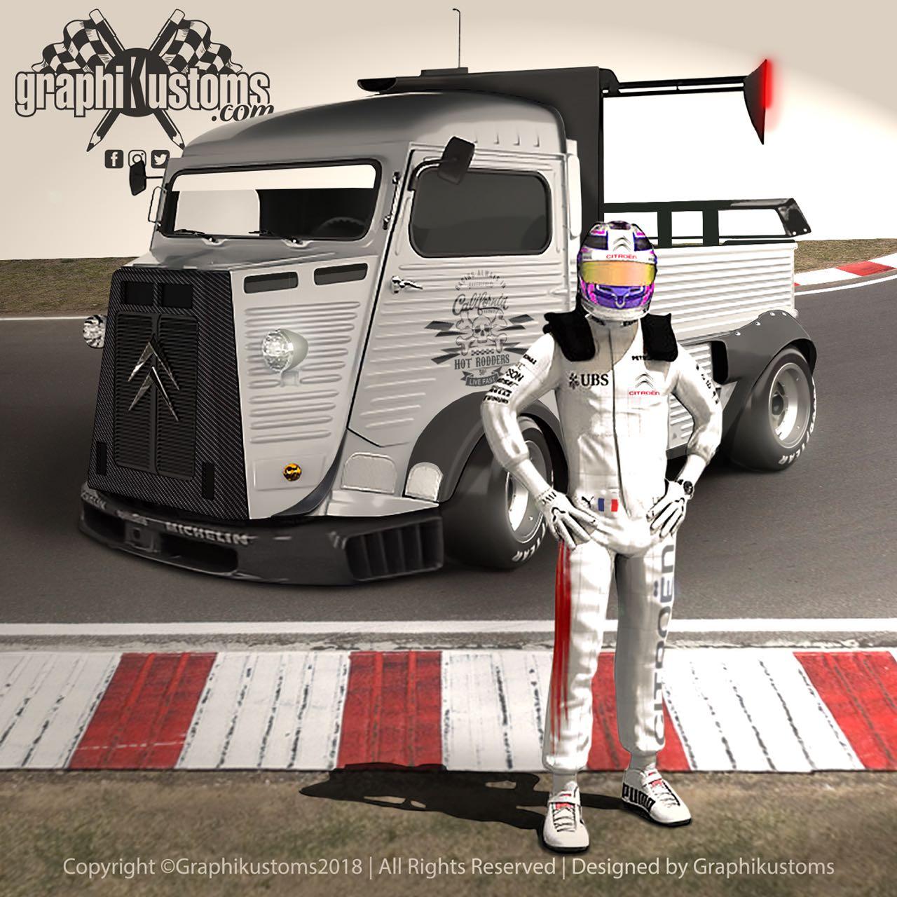 #Petrolhead : Graphikustoms - Le talent de Julien 14
