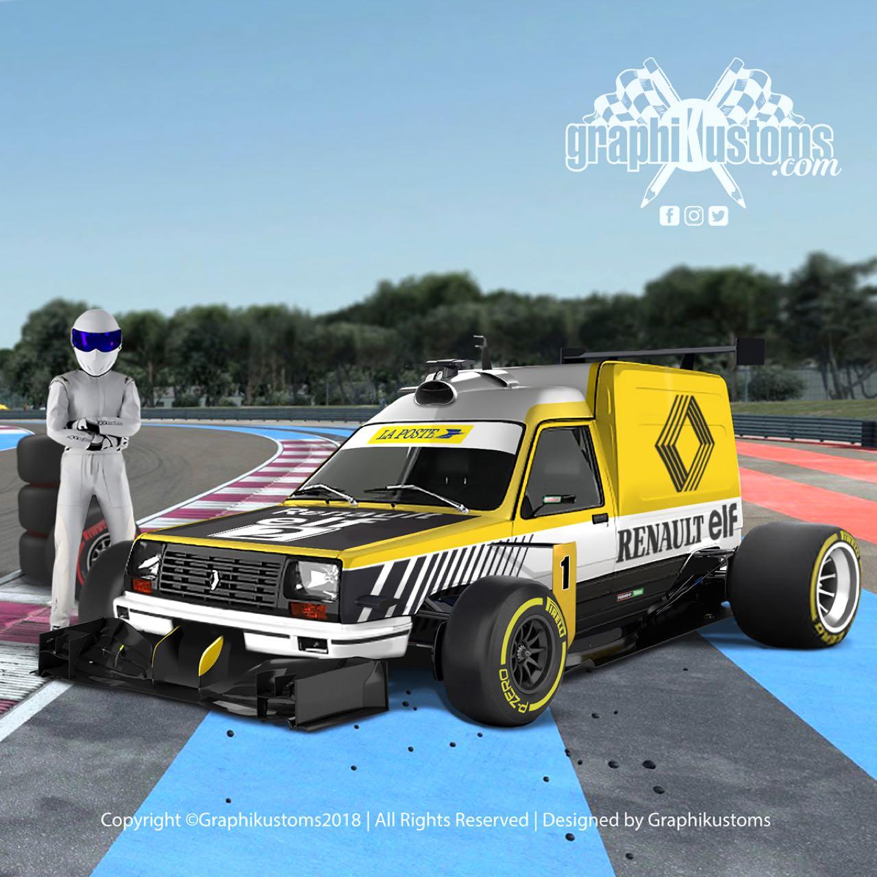 #Petrolhead : Graphikustoms - Le talent de Julien 7