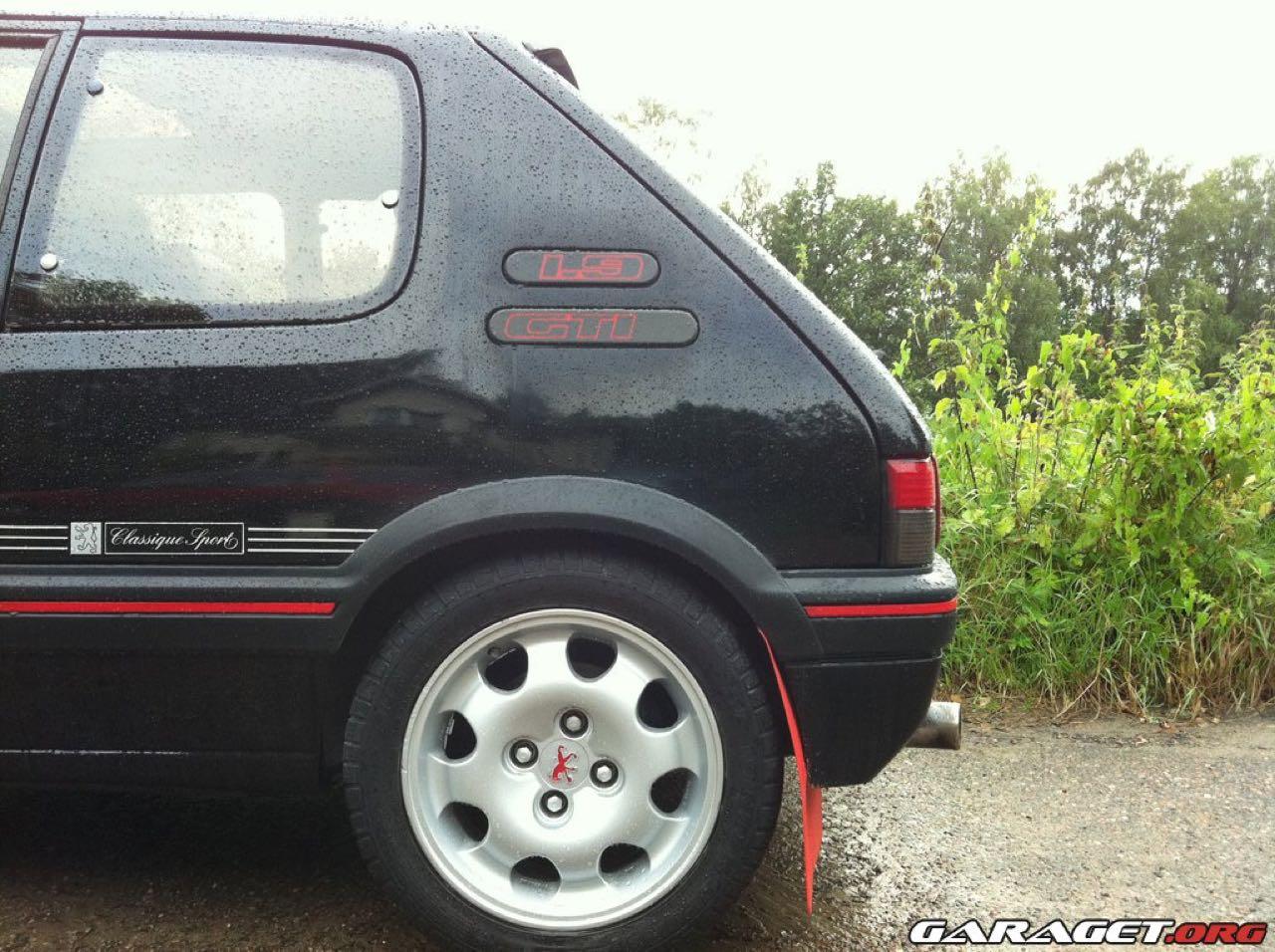 """Peugeot 205 GTi """"Monte Carlo"""" et """"Classique Sport"""" : Encore...! 1"""