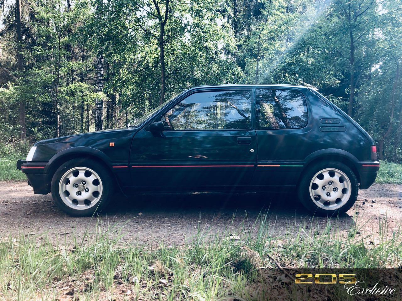 """Peugeot 205 GTi """"Monte Carlo"""" et """"Classique Sport"""" : Encore...! 2"""