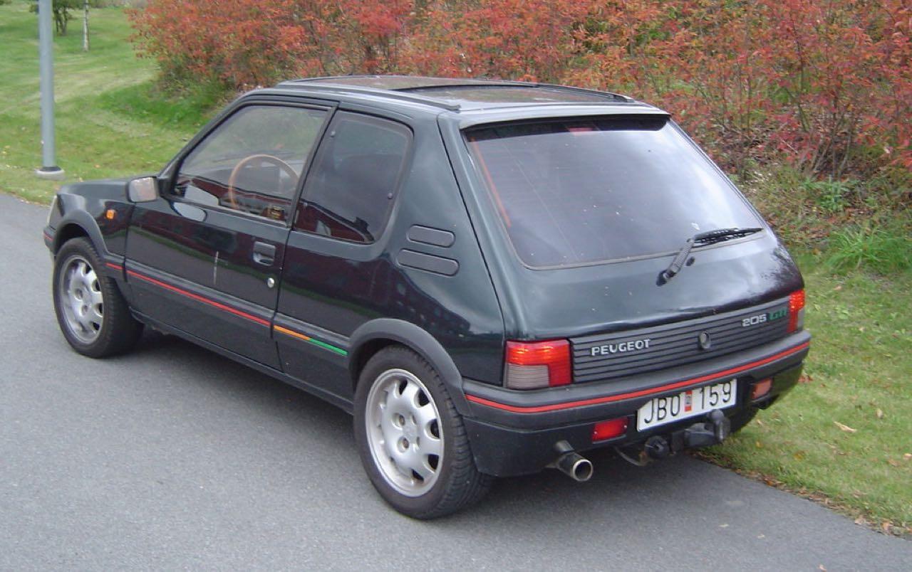 """Peugeot 205 GTi """"Monte Carlo"""" et """"Classique Sport"""" : Encore...! 4"""