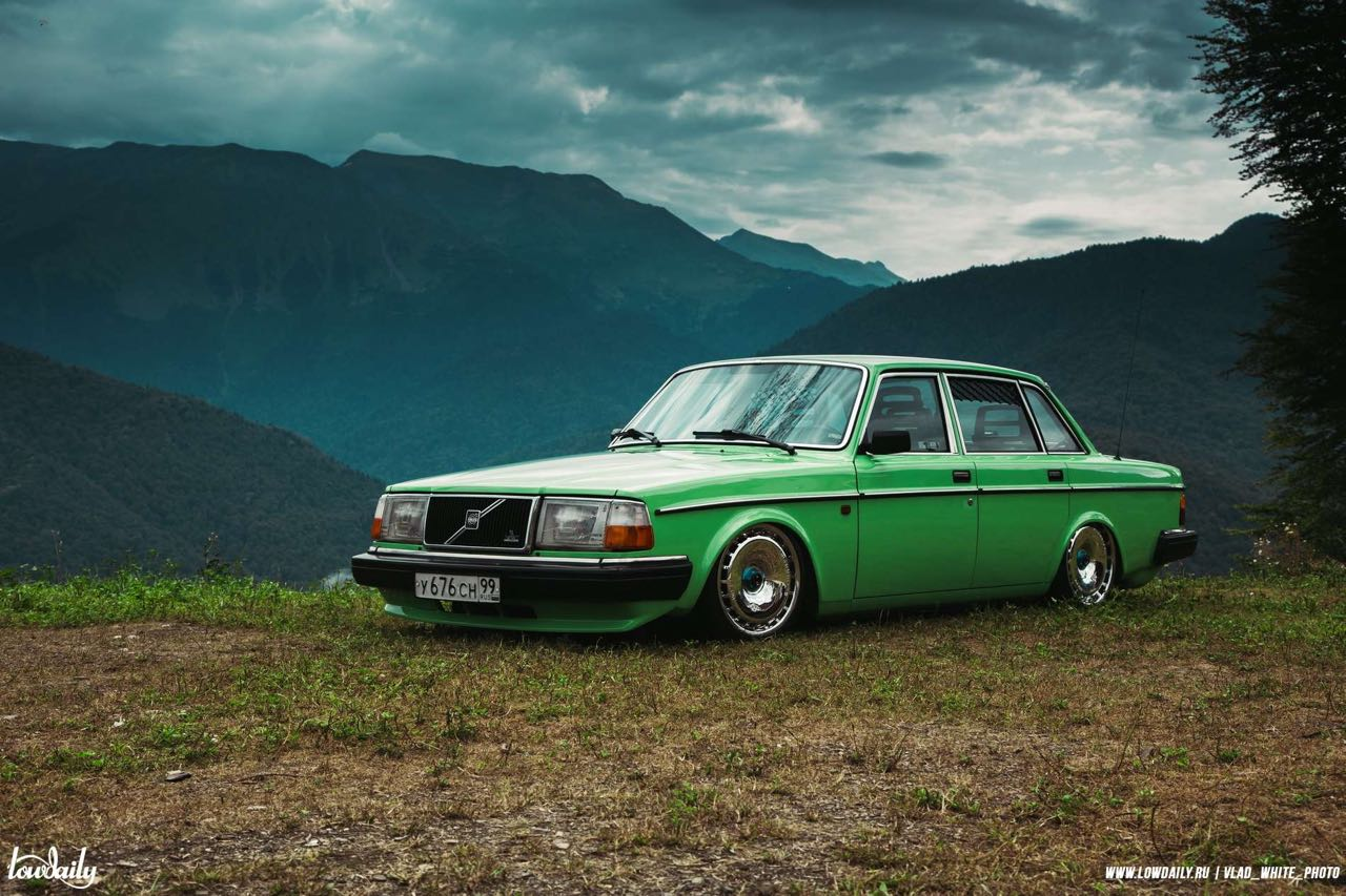 Volvo 240... La brique, c'est chic ! 11