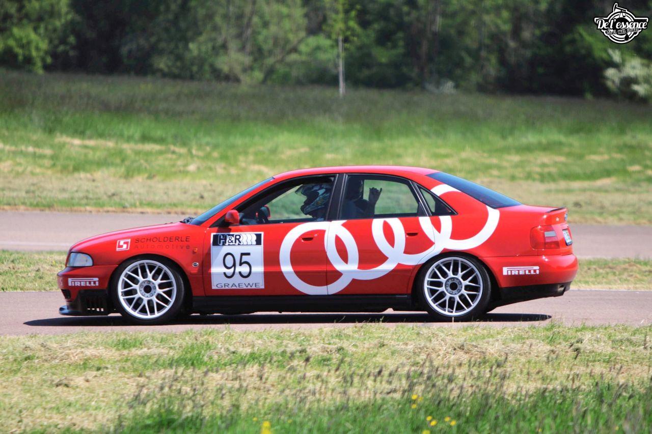 L'Audi A4 B5 2.8 Quattro de Thibault - Sur la piste ! 6