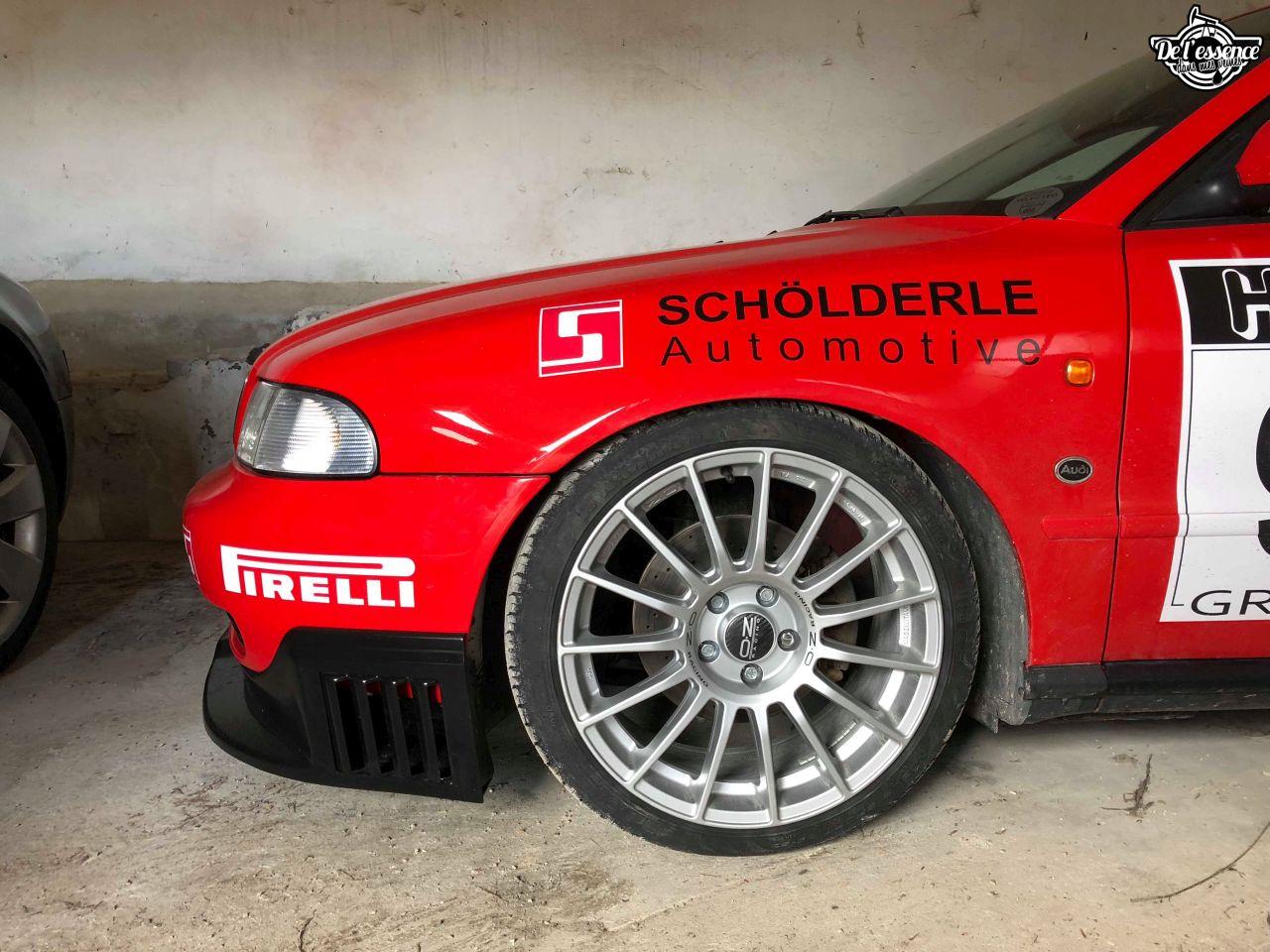 L'Audi A4 B5 2.8 Quattro de Thibault - Sur la piste ! 23