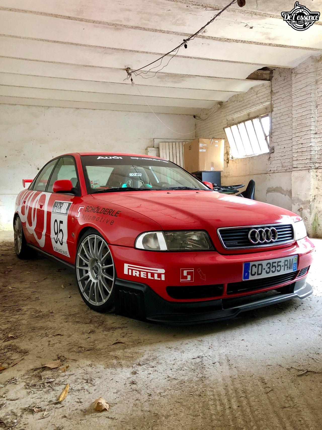 L'Audi A4 B5 2.8 Quattro de Thibault - Sur la piste ! 7