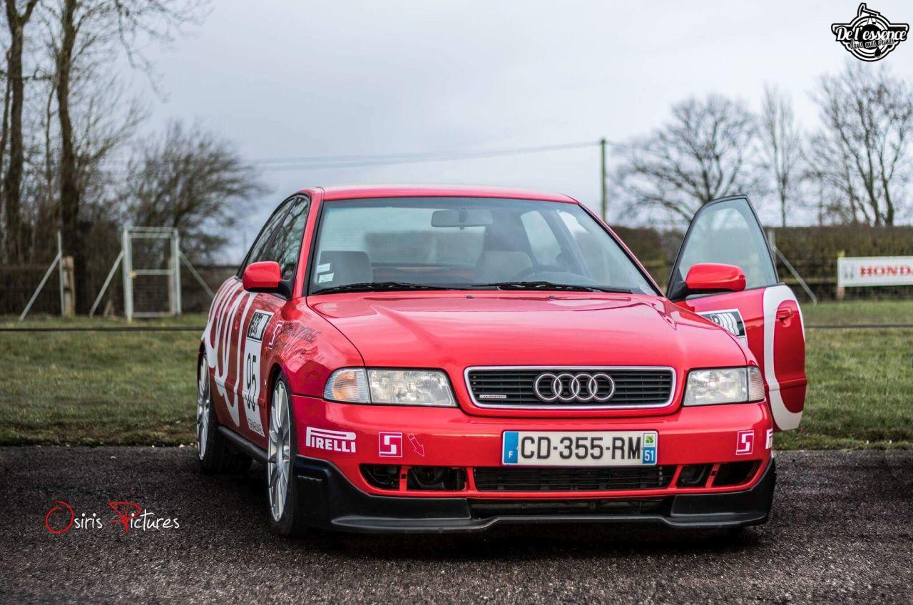 L'Audi A4 B5 2.8 Quattro de Thibault - Sur la piste ! 1