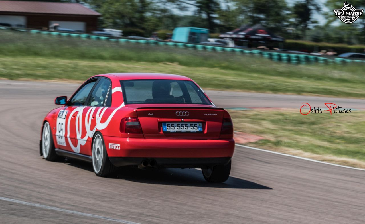 L'Audi A4 B5 2.8 Quattro de Thibault - Sur la piste ! 4