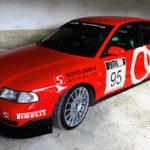 L'Audi A4 B5 2.8 Quattro de Thibault - Sur la piste !