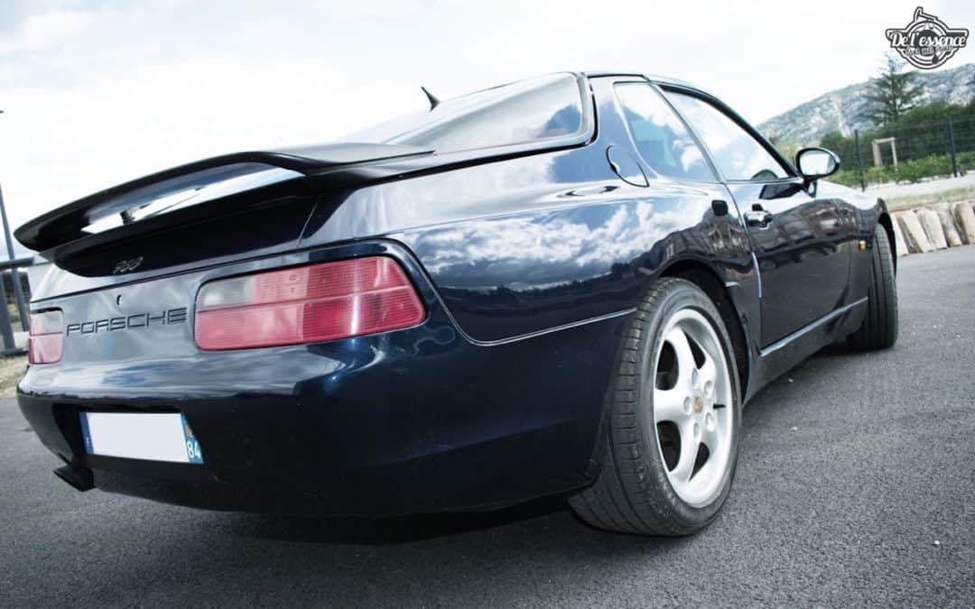 Porsche 968 – Tu veux du 4 cylindres ?!