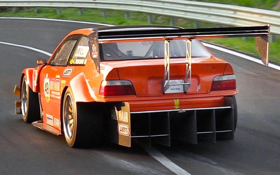 Hillclimb Monster : BMW 320i Cosworth !