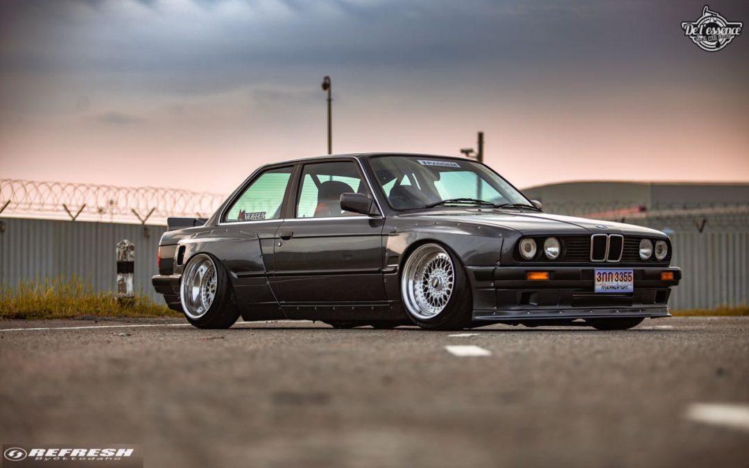 BMW E30… En SR20DET et Rocket Bunny !