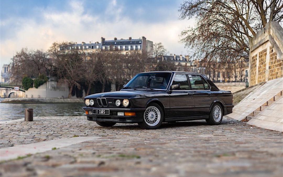 BMW M5 E28… un peu spéciale !