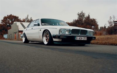 Slammed Daimler XJ40 – Du Static pour Sa Majestic !
