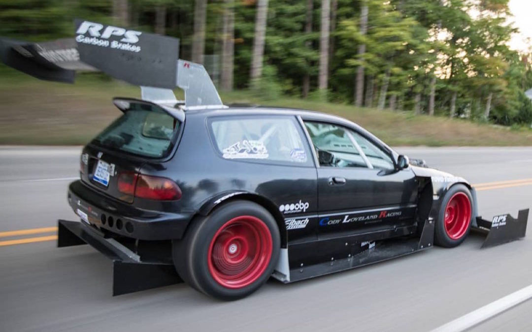 Hillclimb Monster  : Honda Civic V6 Turbo – Pikes Peak Attack !