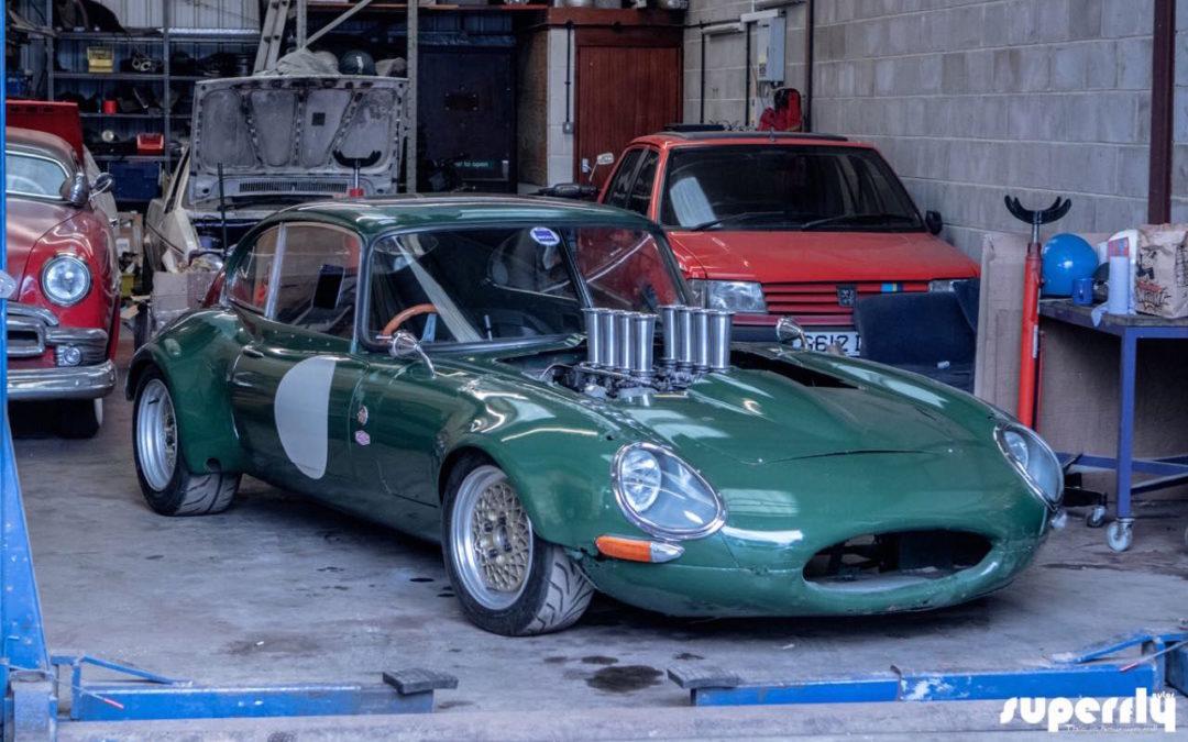 Jaguar Type E en V8 BMW… Allez, on r'met ça !
