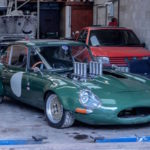 Jaguar Type E en V8 BMW... Allez, on r'met ça !