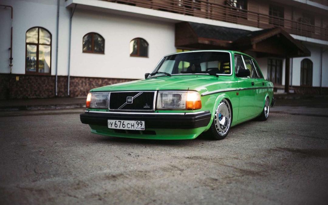 Volvo 240… La brique, c'est chic !