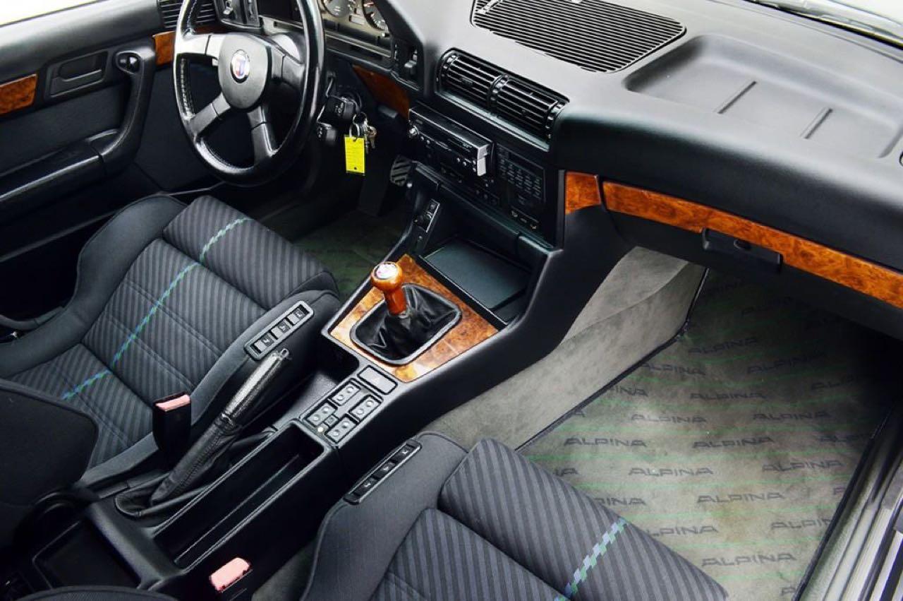 Alpina B10 Biturbo E34... Timeless ! Mais avec deux turbos... 43