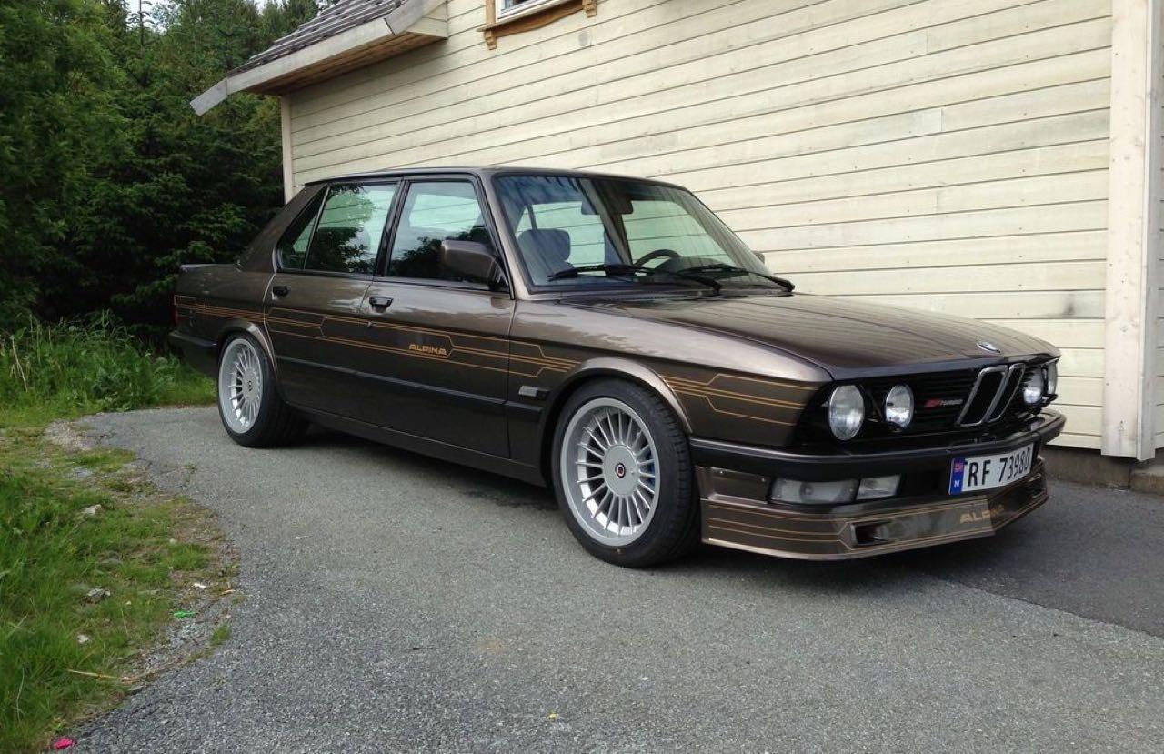 Alpina B7 Turbo... Une famille sous amphet' ! 50