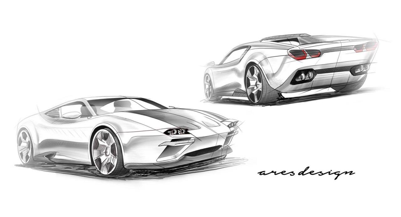 Ares Design Panther - Le retour de la De Tomaso Pantera 1